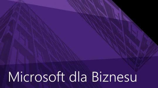 Microsoft dla biznesu