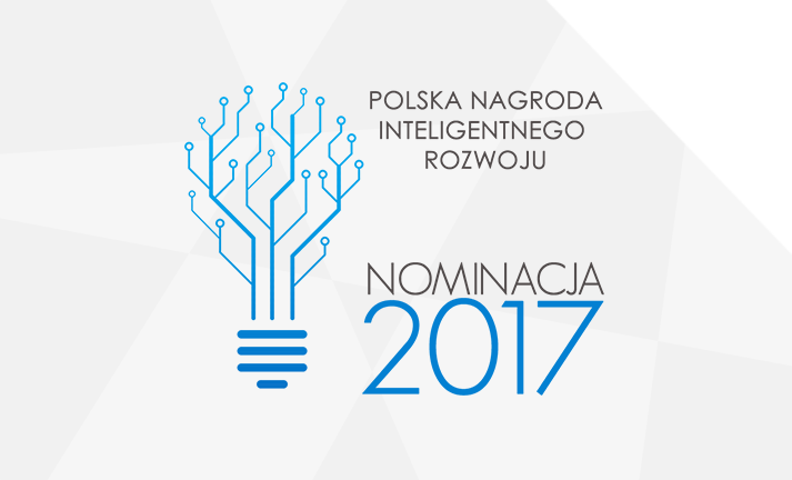 Nominacja do Polskiej Nagrody Inteligentnego Rozwoju 2017