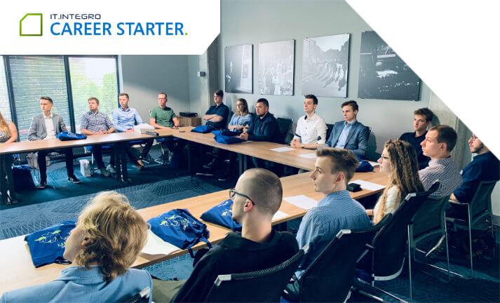 Wdrożenie stażystów z letniej edycji Career Starter 2019 w firmie IT.integro.