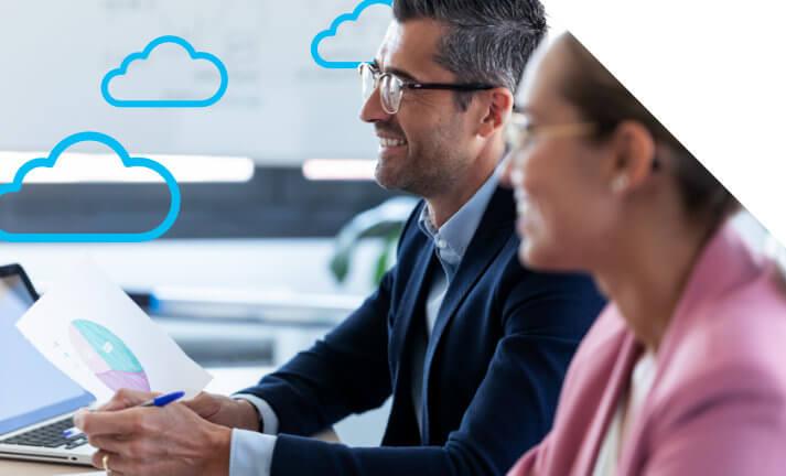 Promocja na system ERP w chmurze - Dynamics 365 BC cloud