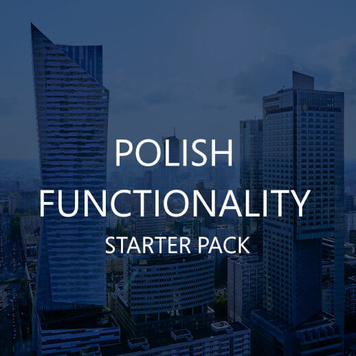 POLISH FUNCTIONALITY – STARTER PACK